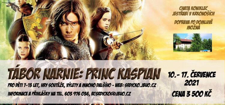 Tábor 2021 Narnie: Princ Kaspian