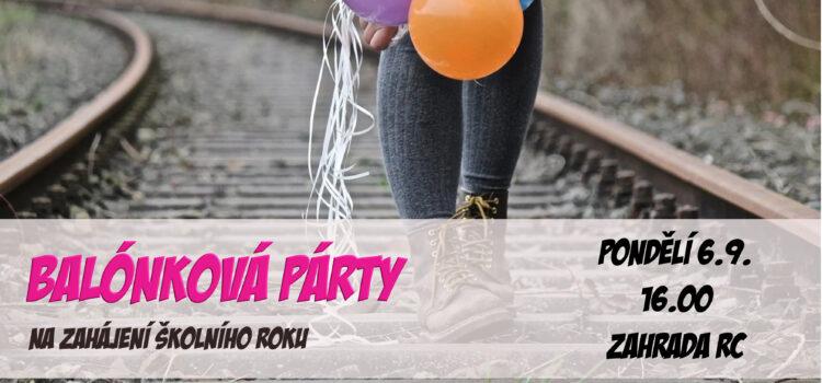 Balónková párty 2021
